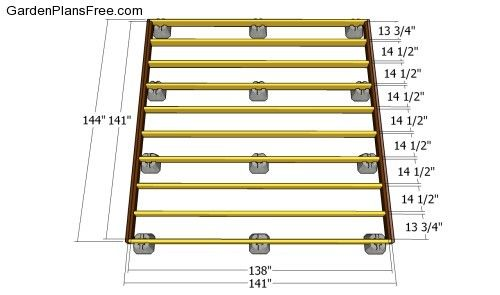 Deck Plans Free Garden How To Build Projects Building A Floating Diy