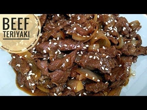 Resep Beef Teriyaki Ala Hokben Youtube Daging Has Dalam Daging Resep