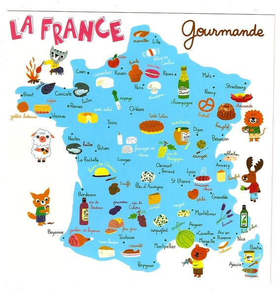 carte gourmande: