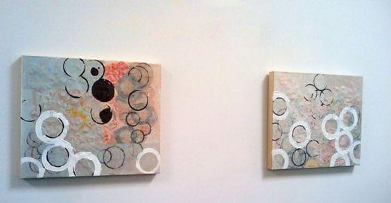 Original Paintings Abstract Mixed Media Art by Aisyah by AisyahAng, $350.00