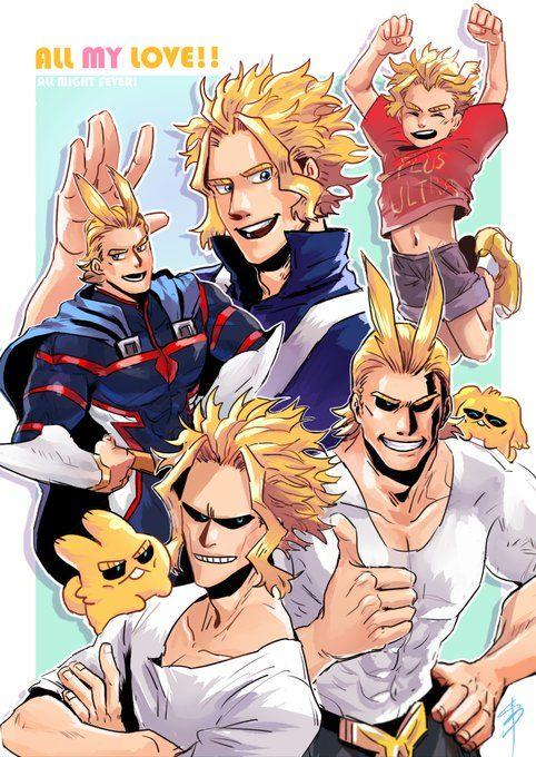 Teenage All Might Was Hot My Hero Academia Manga My Hero My