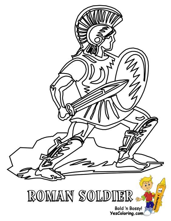 Historic Army Coloring Page Military Army Picture Civil War Free Roman Soldiers Bible Coloring Pages Coloring Pages