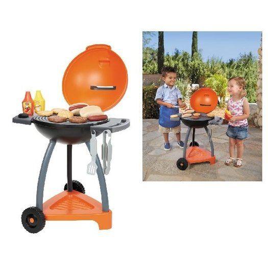 Little Tikes Barbecue Grillde Coole Kleuren Het Mooie Design En De Vele Accessoires Zorgen Ervoor Dat Je Net Echt Aan Het Barbe In 2020 Voor Kinderen Speelgoed