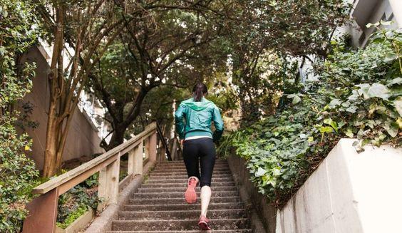 Tres entrenamientos con escaleras para aumentar el rendimiento
