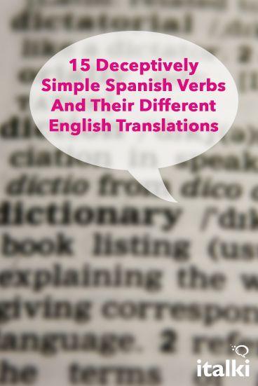 translation english spanish here match