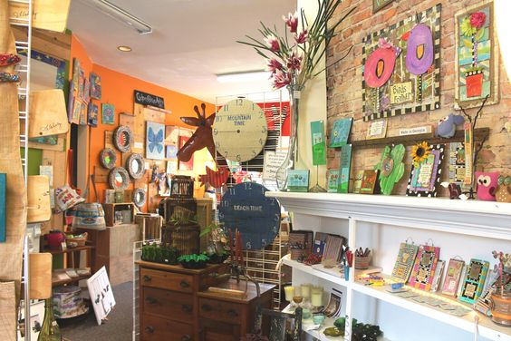 Peek inside the store...I LOVE the Re-Inspiration Store!