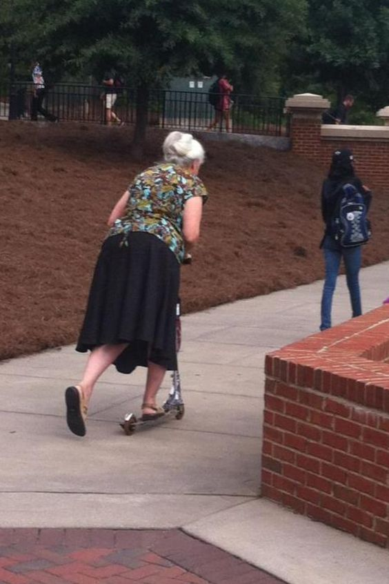 Old Ladies Scooter Parts And Scooters On Pinterest