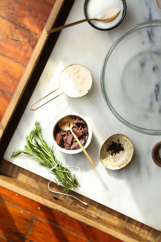 Citrusy Chocolate Chip Cookies with Rosemary Salt (GF) — Probably This