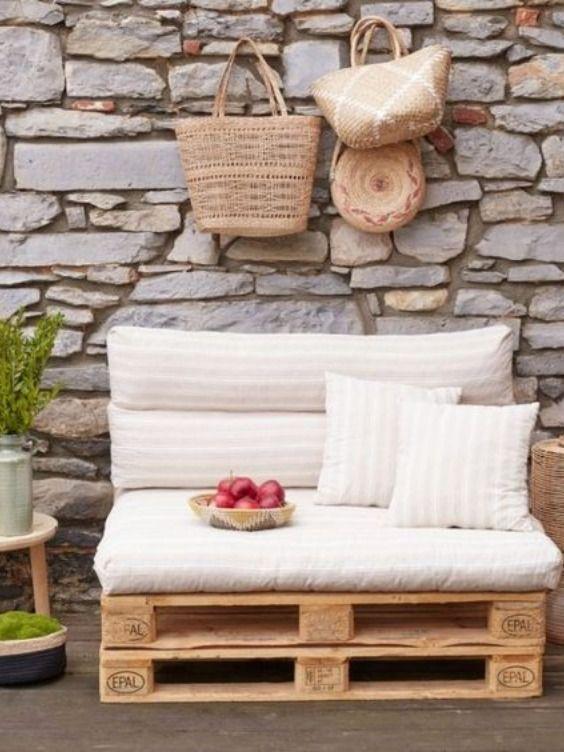 Realisez Votre Canape En Palette Pour Votre Salon De Jardin Cet