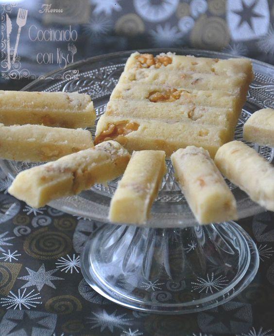 Cocinando con Kisa: Turron de nata con nueces (Tradicional)