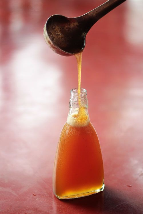 making jackfruit honey