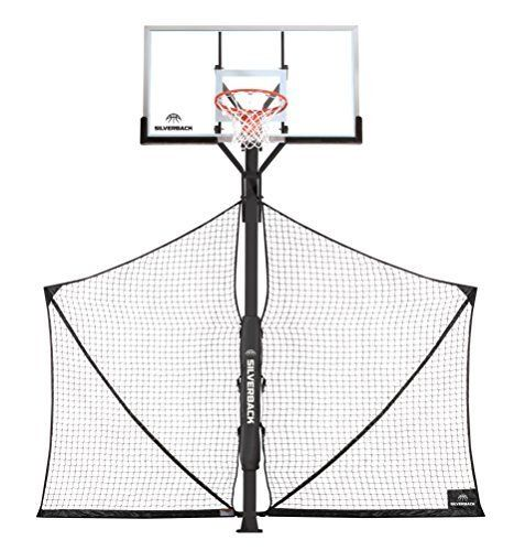 Basketball Yard Guard Defensive Net System Rebounder With Foldable Net Deals Outdoorfull Com Rebounding Vertical Jump Training Basketball Workouts