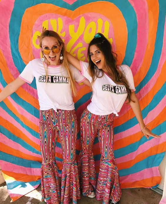 Custom bid day shirts for SDSU Delta Gamma, only from The Social Life! #custom #bidday #recruitment #deltagamma #dg #thesociallife #sorority