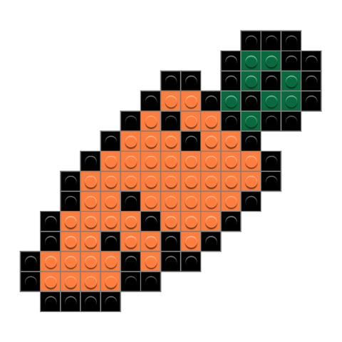 Carrot Easy Perler Bead Patterns Lego Mosaic Harry Potter Perler Beads Shop from the world's largest selection and best deals for hama beads pegboards. pinterest
