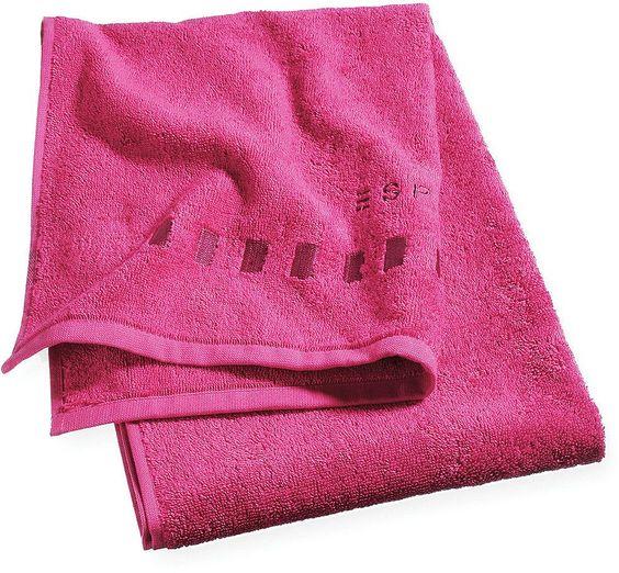 Das unifarbene Badetuch »Solid« der Marke Esprit Home ist aus 100% Baumwolle hergestellt und dadurch kuschelig weich und extrem saugstark. Aufgrund des zeitlosen Designs und der großen Farbauswahl ist das Badetuch perfekt kombinierbar. Die hochwertige Verarbeitung, der Abschluss mit Webband-Einfassung und das kontrastfarbig aufgestickte Logo am Ende des Tuchs macht dieses zu einem langjährigen ...