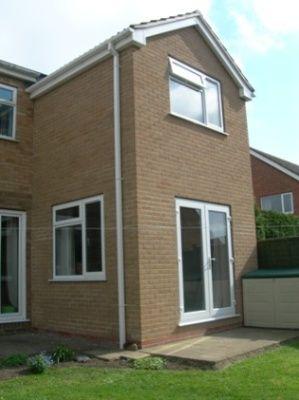 Double rear extension house pinterest rear extension for Terrace extension ideas