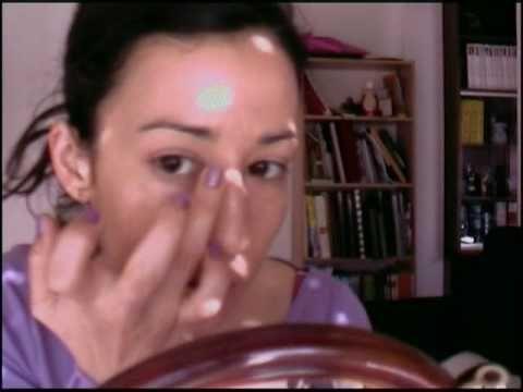 Maquillaje de escena. Danza oriental a bollywood (parte 1) / Show make u...