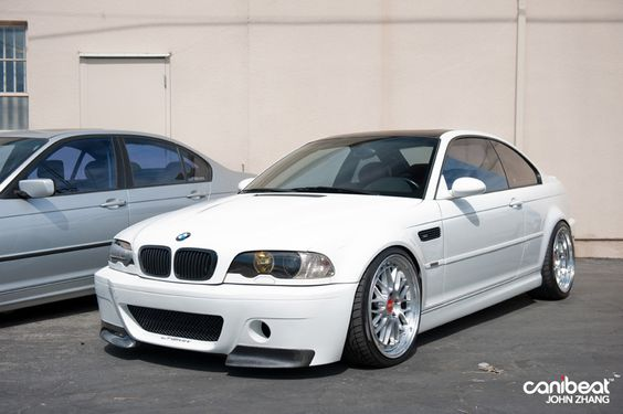 bmw-e46-m3-white-bbs-lm - Rides & Styling