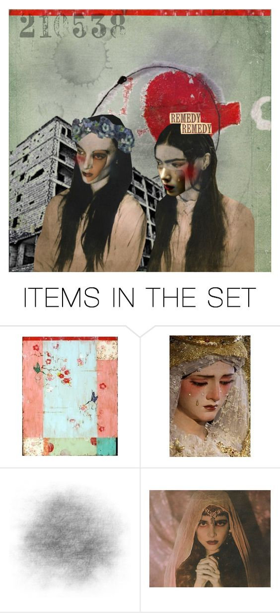 """""""Remedy, Or Not So Much"""" by livnd ❤ liked on Polyvore featuring art, Collage and artset"""