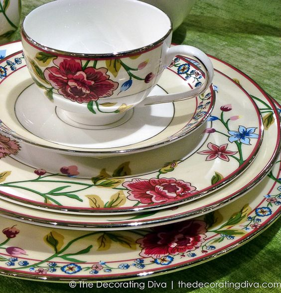Scalamandre Bouvier Dinnerware Collection by Lenox