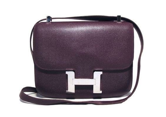 Purple Vache Liegee Constance Bag
