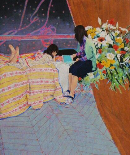 naomi Okubo - contemporary Japanese artist -