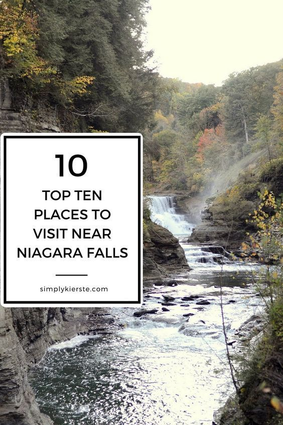 A fabulous list of the top ten places to visit near Niagara Falls, all of them perfect for families and kids of all ages!