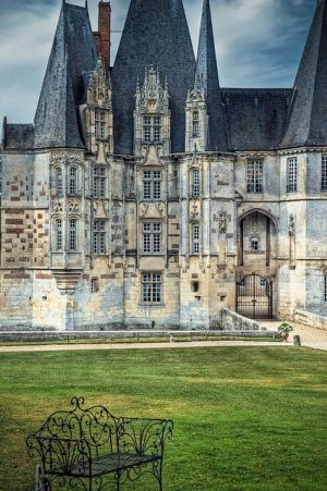 Ancient Castle, Normandy, France  - Top Pinterest pick by RetoxMagazine.com: