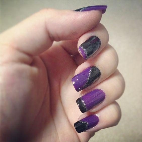 Cores bem marcantes que combinaram perfeitamente!!! Tudo que você precisa para cuidar de suas unhas você encontra em: www.lojadeesmaltes.com.br