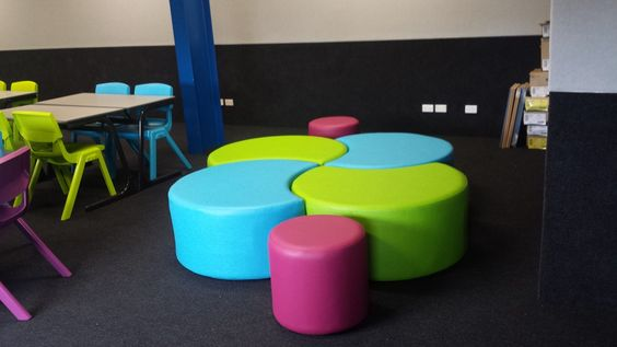 Modern Classroom Seating : Classroom soft seating big softies orio ottoman