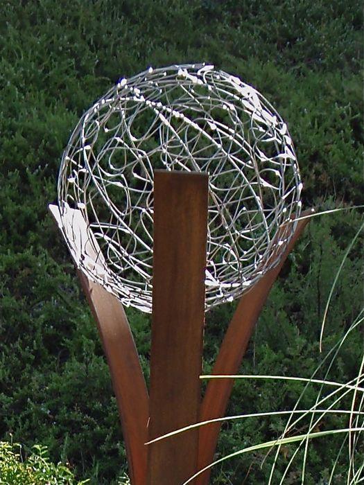 gartenskulpturen modern metall | actof, Garten ideen