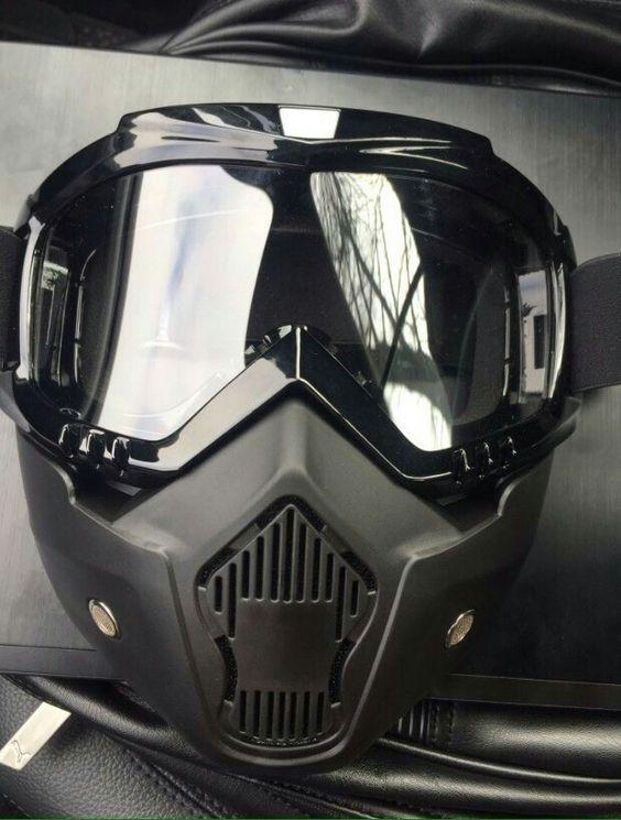 Máscara moto 2