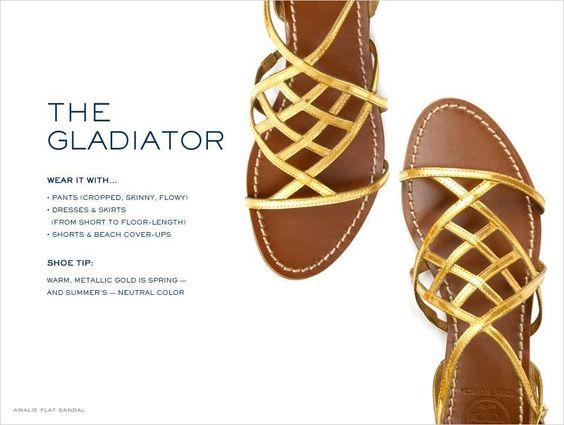 Gold gladiator
