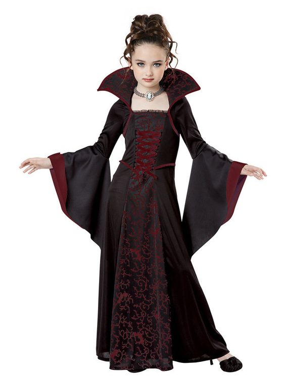 Check out Girls Royal Vampire Costume - Gothic Costumes from Costume Super Center