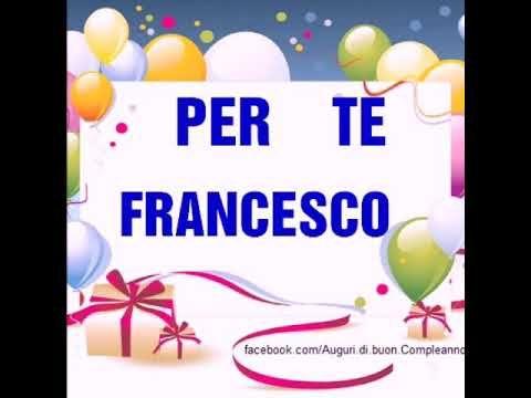 Youtube 50 Anniversario Di Matrimonio.Buon Compleanno Francesco Per I Tuoi Primi 50 Anni