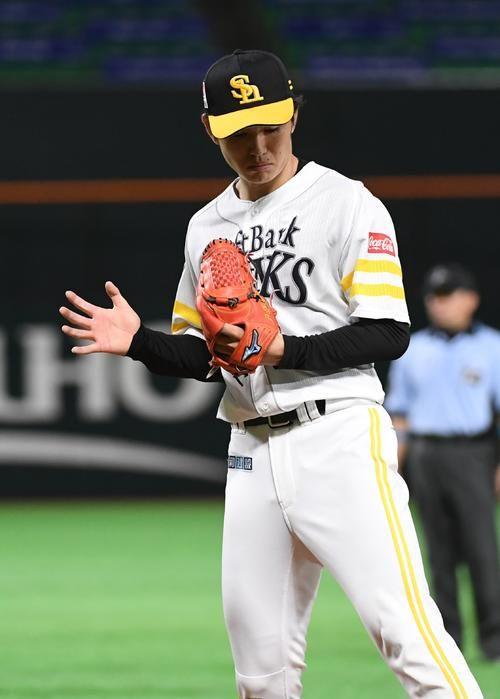 ソフトバンク高橋礼2回0封 役に立ててよかった プロ野球写真ニュース 日刊スポーツ ソフトバンク プロスポーツ プロ野球