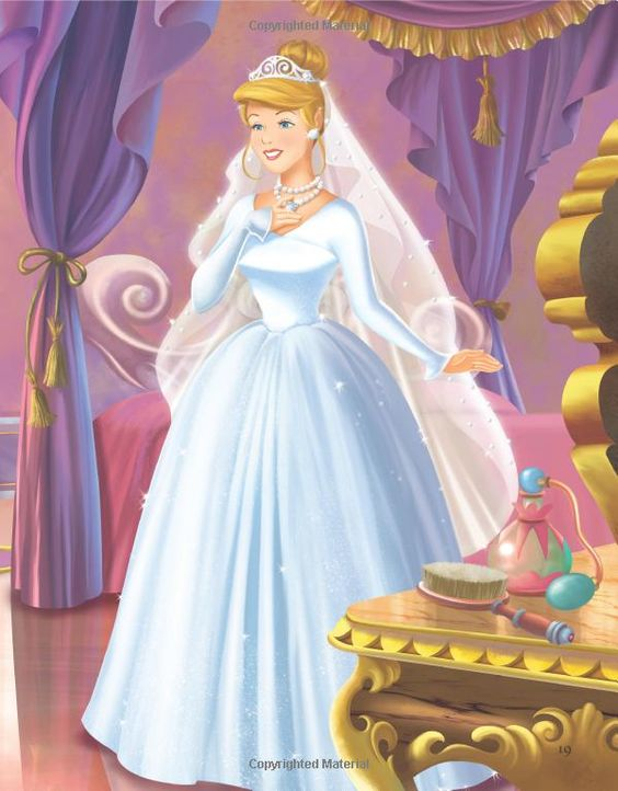 Disney Princess Cinderella Wedding Dress Up Games : Disney princess forever after cinderella s wedding dress