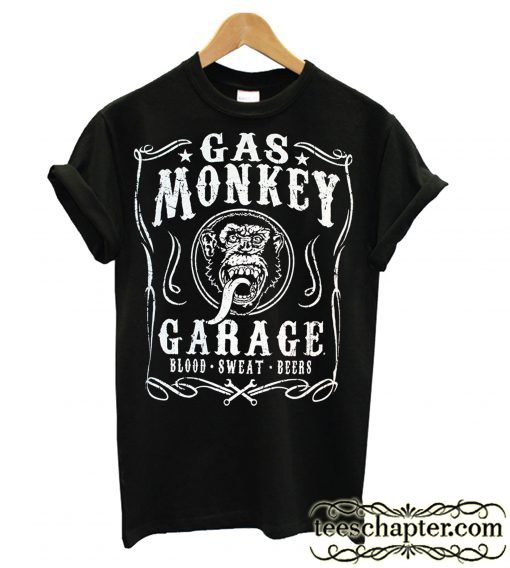 Gas Monkey Blood Sweat Beers T Shirt In 2020 Gas Monkey Shirts