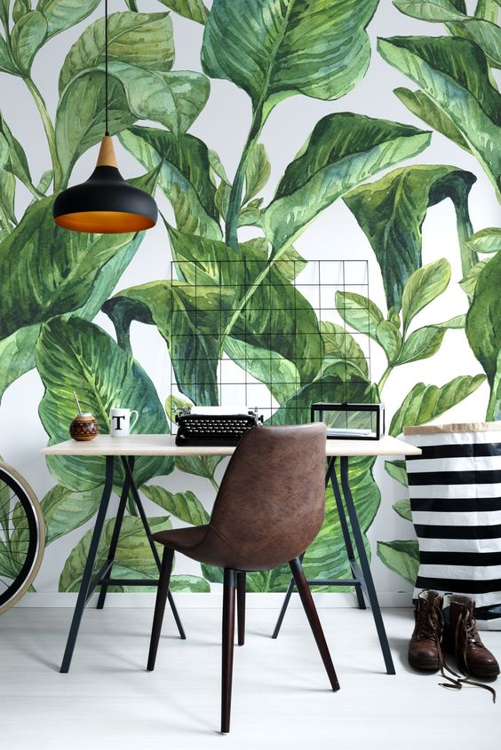 Concentration in green • Contemporary - Office - Nature - Wall Murals • Pixers® • We live to change