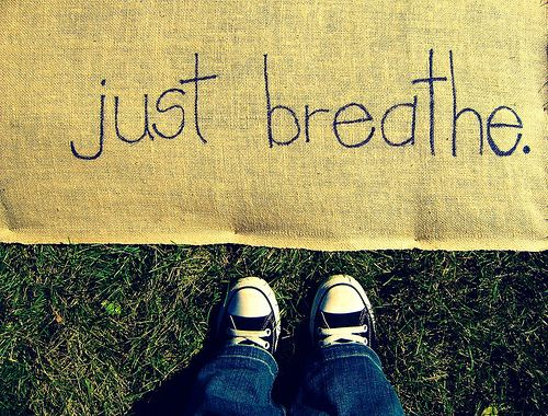 Sometimes there's little we can do to control a situation, but we can always take a Deep Breath. Breathe. Relax. Repeat. #awesomelyawake
