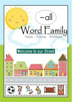 All Word Family Worksheets - Synhoff