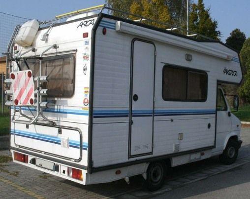 Pronto a viaggiare vendo camper mansardato arca america - Pronto letto camper ...