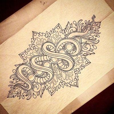 kundalini serpent back piece tattoo - Google Search