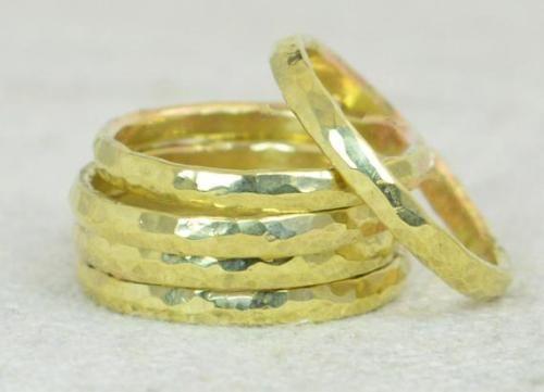 Gold Brass Ring BOHO Super Thin Brass Stacking Ring Brass Stacking Ring s Hammered Brass Ring ,Brass Rings,Brass Ring Dainty Brass Ring