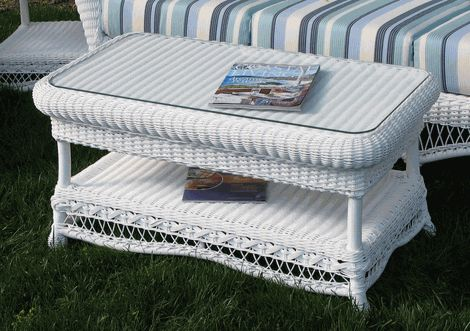 Outdoor wicker coffee table manchester white wicker wicker coffee table and coffee White wicker coffee table