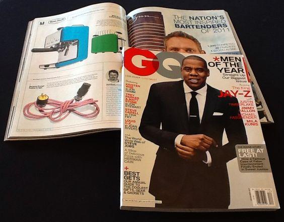GQ Magazine Decor