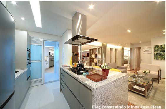 Bem nessa disposição que gostaria (cozinha e sala integradas)