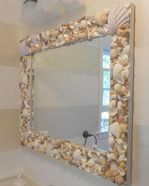 15 Most Creative Diy Beach Themed Bathroom Mirrors That Will Stun