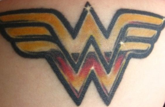 Pinterest the world s catalog of ideas for Wonder woman temporary tattoo
