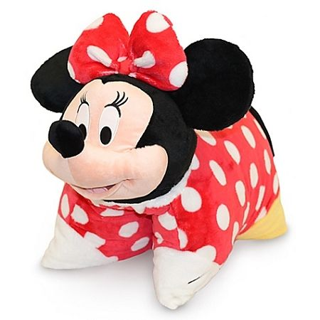 Disney Animal Pillow Pets : minnie+mouse+pillow+pet Disney Pillow Pet - Minnie Mouse Plush Pillow - 20